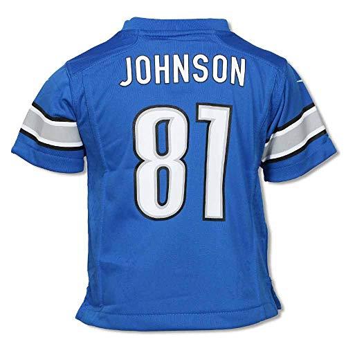 Johnson #81 Detroit Lions Infant Replica Jersey-Infant 12 Months ()