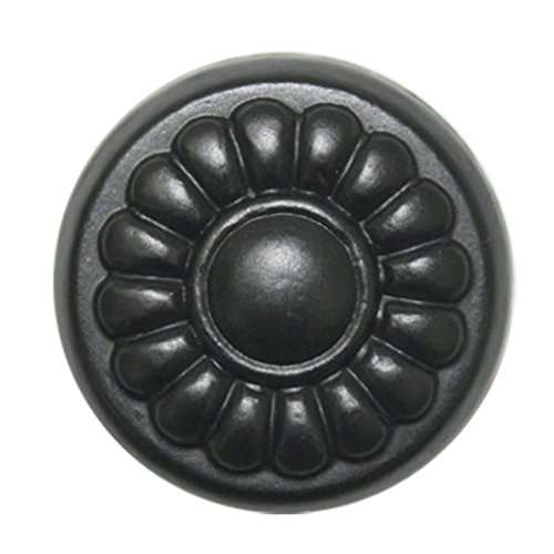 10 pcs Black Metal 30 mm Knobs Furniture Dresser Cabinet Drawer Pulls Hardware JMS033 by JC Handle