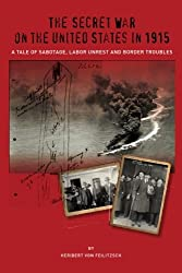 The Secret War on the United States in 1915: A Tale of Sabotage, Labor Unrest, and Border Troubles (The Secret War Council) (Volume 3)