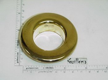 Jacuzzi H685829; BMH Jet; Face trim ring; in Bright Brass - Brass Trim Ring