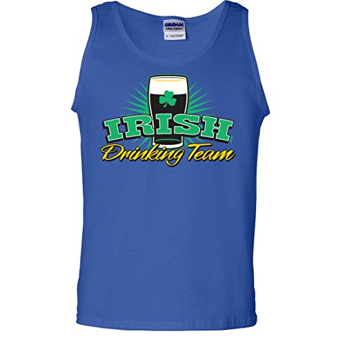 Irish Drinking Team Stout Tank Top - Royal XX-Large