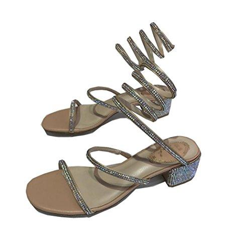 Mujer Sencillos ZFNYY Moda Zapatos Mujer Sencillos Mujer Gruesos Para con de Para y Zapatos Fondo de Zapatos Redondo twBIBx4q
