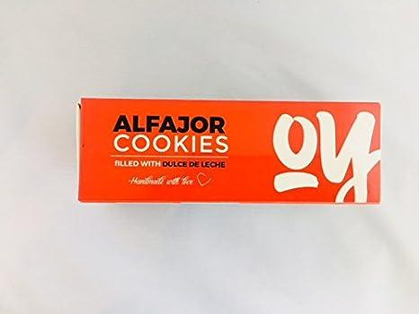 Amazon.com: Alfajor 6 Pack Argentinean Dulce De Leche Cookie- 25% Off Now Only 12.99 was 16.99