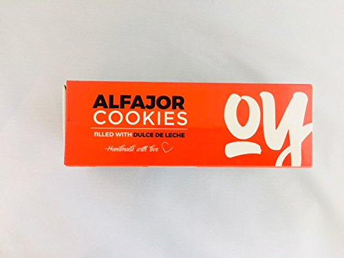 Amazon.com: Alfajor 6 Pack Argentinean Dulce De Leche Cookie- 25% Off Now Only 12.99 was 16.99