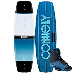 KEY FEATURES Subtle Three Stage Rocker pulls smooth and adds pop off the wake Deep Center Channel helps the board track straight improving control Includes CWB Empire Boots Progress your riding without destroying your wallet by upgrading to t...