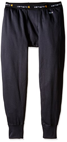 Mens Tall Bottoms (Carhartt Men's Big & Tall Base Force Extremes Super-Cold Weather Bottom, Black, X-Large/Tall)