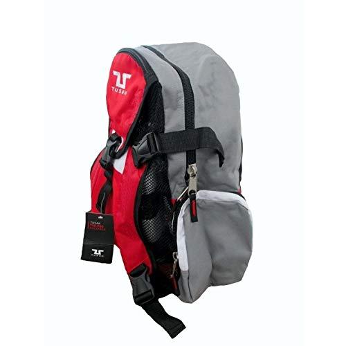 Zainetto Adidas Taekwondo con porta corazza blu e rosso per