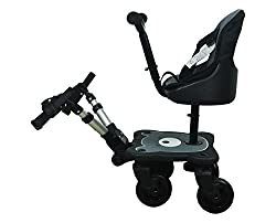 Englacha 2-in-1 Cozy 4-wheel Rider, Black