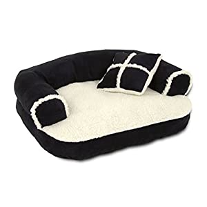 "ASPEN PET 20"" X 16"" SOFA BED WITH PILLOW (Colors may vary)"