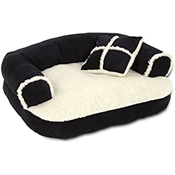Amazon Com Aspen Pet 20 Quot X 16 Quot Sofa Bed With Pillow