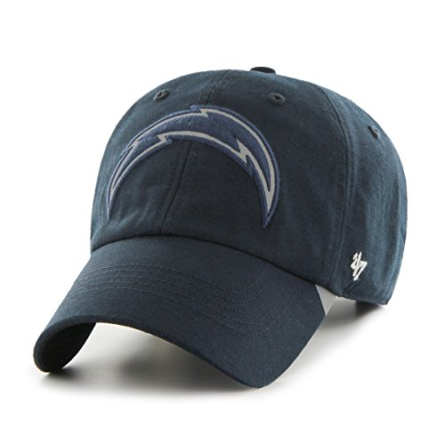 nfl-san-diego-chargers-react-clean-up-hat-one-size-navy
