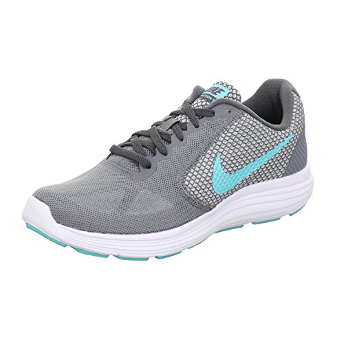 Grey 3 Donna White Scarpe Damen Laufschuhe Revolution Cool Aurora Green Grau dark Grey Running NikeNike O1wq5YZZ