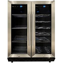Vinotemp VNTVT-36 Dual-Zone Wine & Beverage Cooler