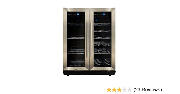 Amazon.com: Vinotemp VNTVT-36 Dual-Zone Wine & Beverage Cooler ...