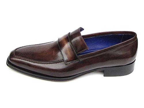 per Paul uomo Boat Parkman Bronzo dipinto a Shoes mano x6Zq0zw6r