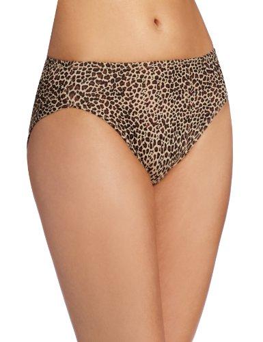 438cf9b67ed7 Warner's Women's No Wedgies No Worries Hi Cut Brief Panty - Import ...
