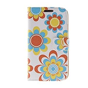 JOE Kinston Art Decorated Pattern PU Leather Full Body Case with Stand for Samsung S4 I9500
