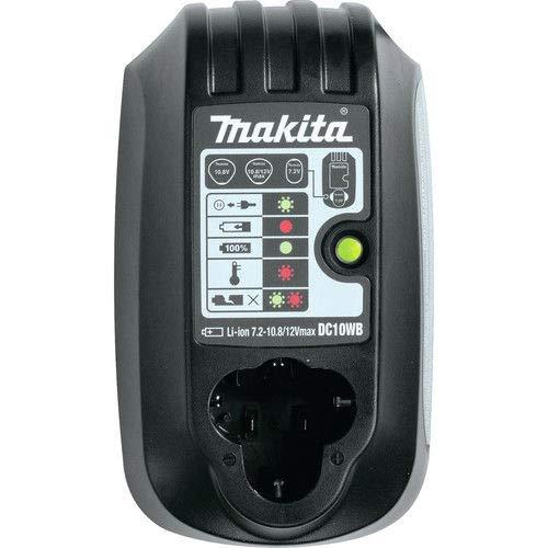 Makita DC10WB 7.2V - 12V Max Lithium-Ion Charger