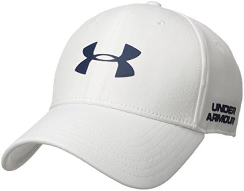Under Armour Mens Golf Headline 2.0 Cap, Gorra para Hombre, Blanco (White)