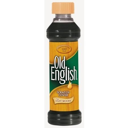 Old English Scratch Cover for Light Woods, 8 Fl Oz. (1) ()