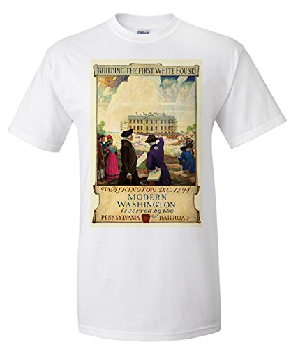 pennsylvania-railroad-washington-vintage-poster-artist-newell-convers-wyeth-usa-c-1929-white-t-shirt
