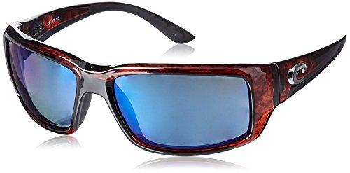 Costa Del Mar Fantail Sunglasses, Tortoise, Blue Mirror 580Plastic - Lens Plastic