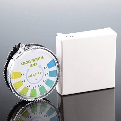 Honsin 5M Ph Bandelettes de Test 5.5-9.0 Accessoire pour LEau Potable Piscine Tub Hydroponik Aquarium