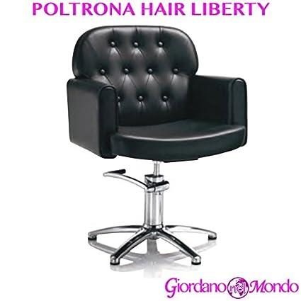 Sillón de salón peluquería y barbería silla Hair Liberty ...