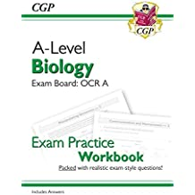 New A-Level Biology for 2018: OCR A Year 1 & 2 Exam Practice Workbook - includes Answers