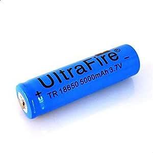 بطارية ليثيوم ايون قابلة لاعادة الشحن 5000 مللي امبير في ساعة 3.7 فولت، 18650