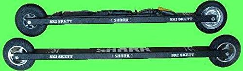 Ski Skett Shark Trainer Skating Roller Ski Bundle with NNN Bindings