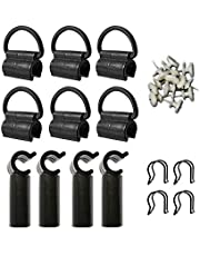 Rod Clamping Hanging Loop 6 Pack Accessories Backup Pack for Portable Folding Projection Screen