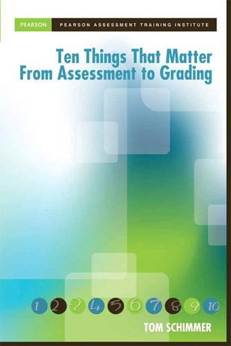 Schimmer: Ten Thin that Matt Asse Gr (Assessment Training Institute, Inc.)