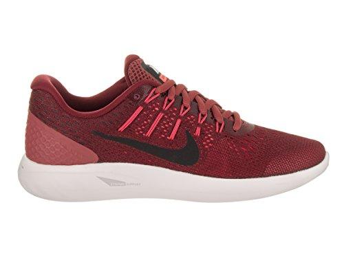 Nike WMNS Nike Lunarglide 8–Cedar/Black Hot Punch-Electrol