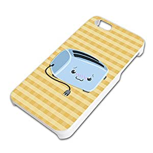 Cute Toaster Slim Fit Hard Case Fits Apple iPhone 5 5S