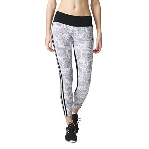 adidas Damen Trainingshose Essentials 3-Stripes Printed Tights Leggings