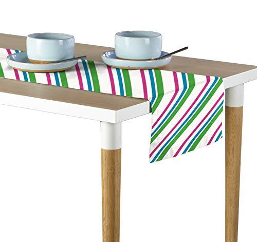 (Milliken Easter Diagonal Stripe Signature Table Runner - Assorted Sizes (12