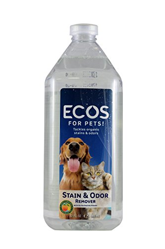 (Earth Friendly Products Stain & Odor Remover, Natural Pet Formula 32 fl oz)
