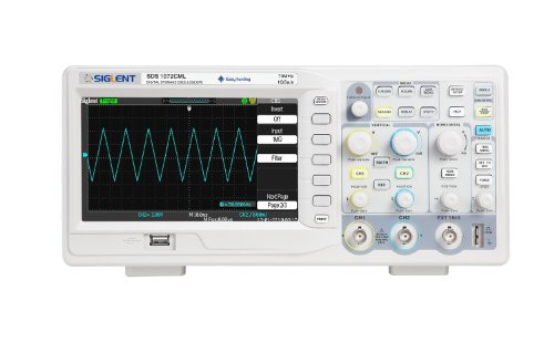 Siglent SDS1072CML 7'' TFT-LCD Display Bench-Top Oscilloscope, 70MHz - Lcd Oscilloscope