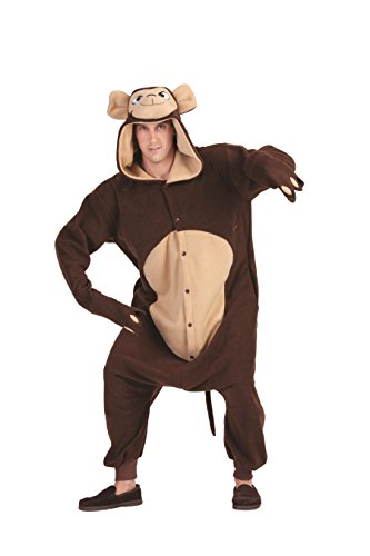 Morgan The Monkey Costume (RG Costumes Morgan The Monkey, Brown/Tan, One Size)