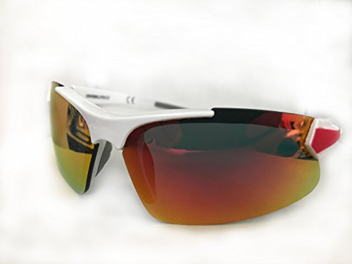 Rawlings Youth Ry107 Sunglasses White Red by Rawlings