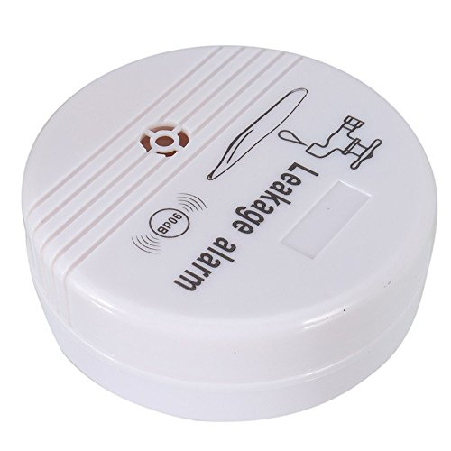 Water Leak Alarm Battery Powered - Leakage Sensor Detector Kitchen Sink Bath Tub Overflow Home Water Safety (1)