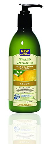 Hand and Body Lotion Buy One Get 1 Lemon 12 Ounces Avalon Hydrating Body Lotion