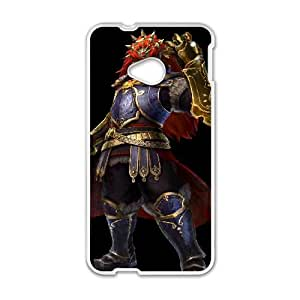 HTC One M7 Cell Phone Case White The Legend of Zelda The Wind Waker Ganondorf Uooln
