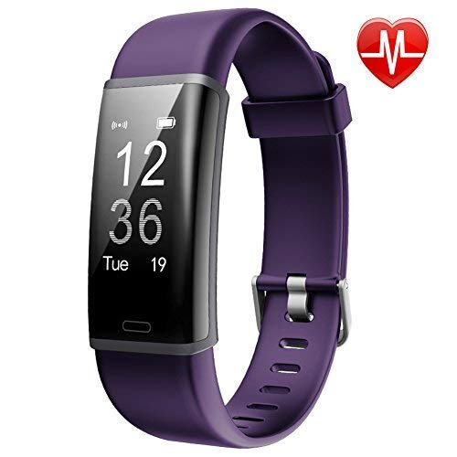 (Lintelek Fitness Tracker, Customized Activity Tracker with Heart Rate Monitor, 14 Sports Modes Smart Watch IP67 Waterproof Pedometer for Men, Women and Kids)