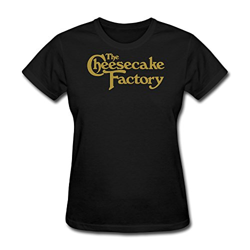 tongda-womens-cheesecake-factory-logo-t-shirt-m-black