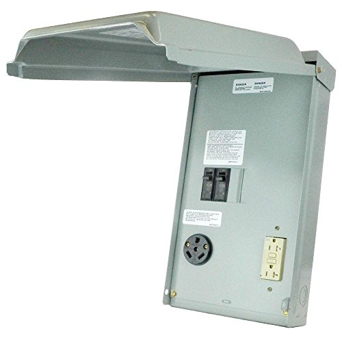 rv 30 amp power outlet box - 8