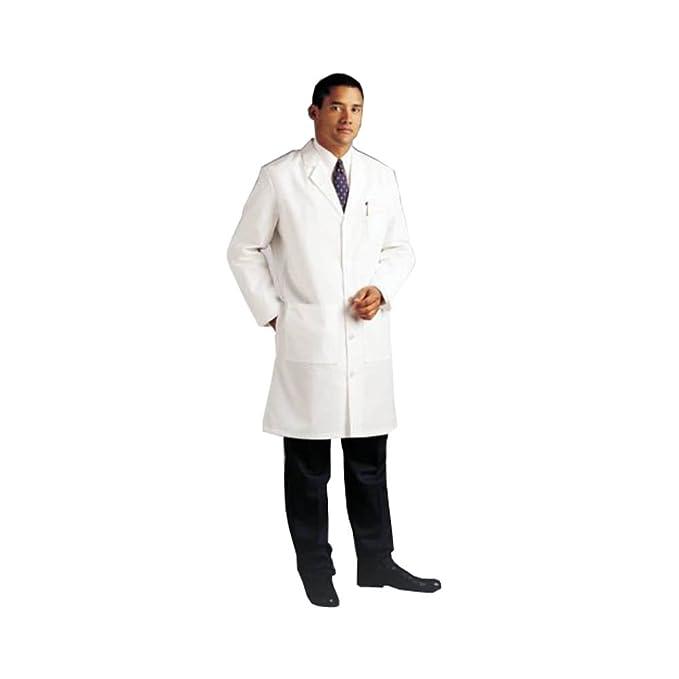 Mcintyre - Bata blanca de laboratorio Blanco blanco Extra Small: Amazon.es: Ropa y accesorios