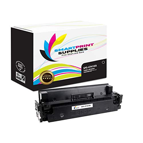 2300 Smart Print (Smart Print Supplies Compatible 410A CF410A Black Toner Cartridge Replacement for HP Laserjet Pro M452 M477 Printers (2,300 Pages))