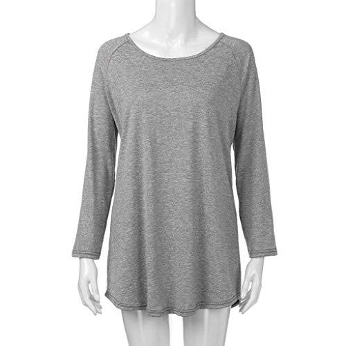 Da Tinta Con Gray Shopping Manica Camicia Donna Go Lunga A Easy Unita E 6gyYb7vf
